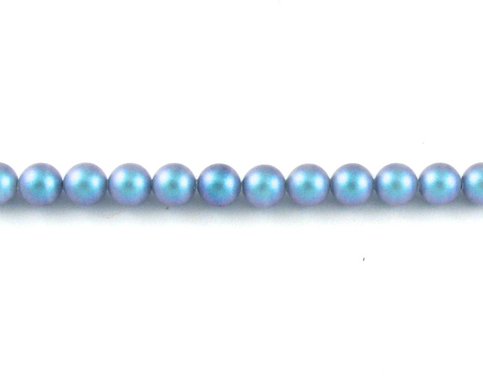 SWP014 - Iridescent Light Blue Swarovski Pearls
