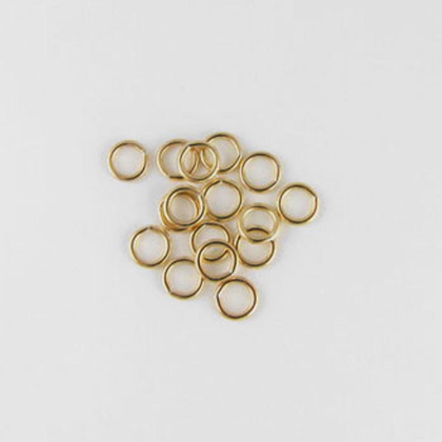 GF0049 - 5mm Closed Jump Ring, Gold-Fill (pkg of 25)