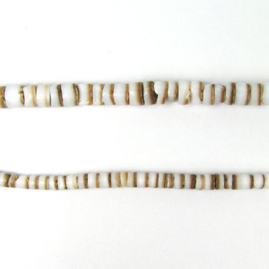 "HB0001 - Arabic Conus Heishi Beads (24"" strand)"