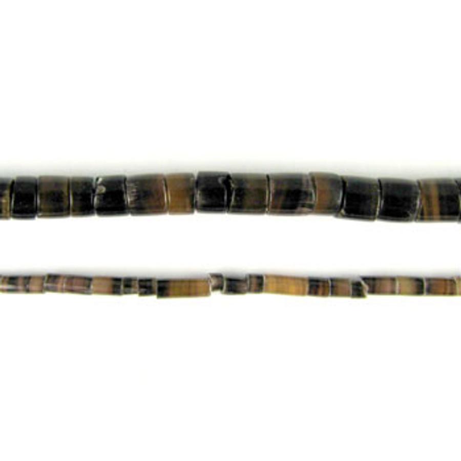 HB0008 - Dark Penshell Heishi Beads (24 in. strand)