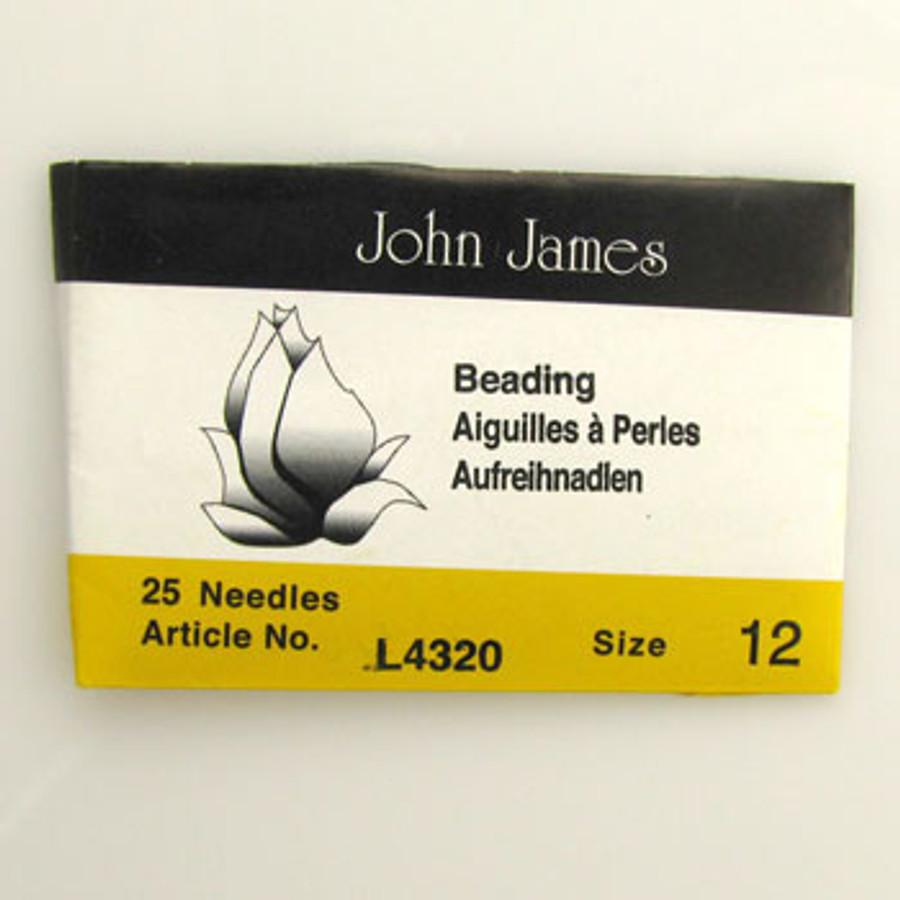 TO0017 - Size 12 Needle, John James (pkg of 25)