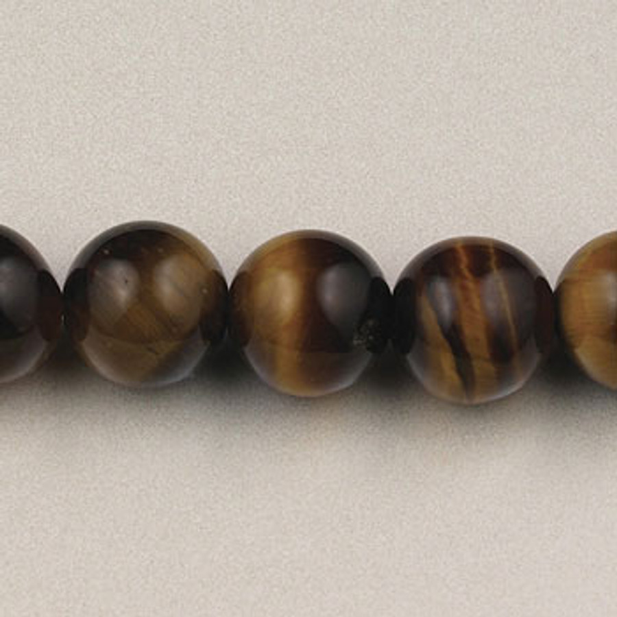 SPS0088 - Yellow Tiger Eye, 8MM Round (16 in. strand)