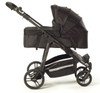 Easy Twin Carrycot Black
