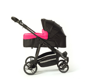 Easy Twin Carrycot Pink