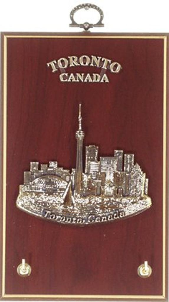 AFG Key Hook Plaque - Downtown Skyline, Toronto, Canada