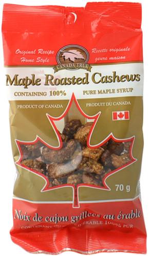 Canada True Maple Cashews (3 Pack of 70 g)