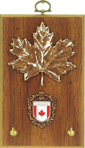 AFG Key Hook Plaque - Canadian Shield