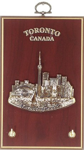 AFG Key Hook Plaque - Downtown Skyline, Toronto, Canada