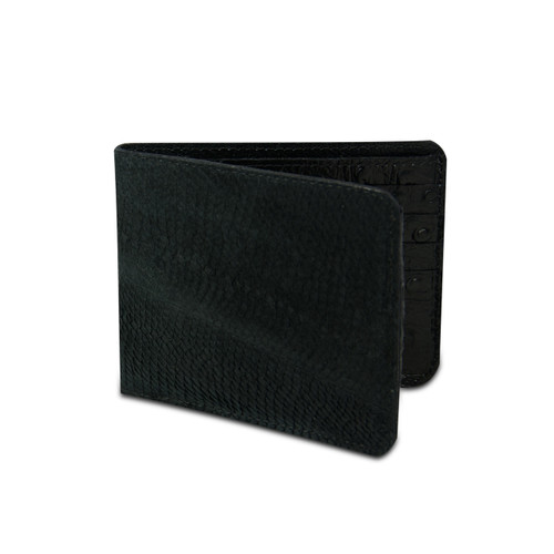Black Walleye Wallet by Big Eye Leather