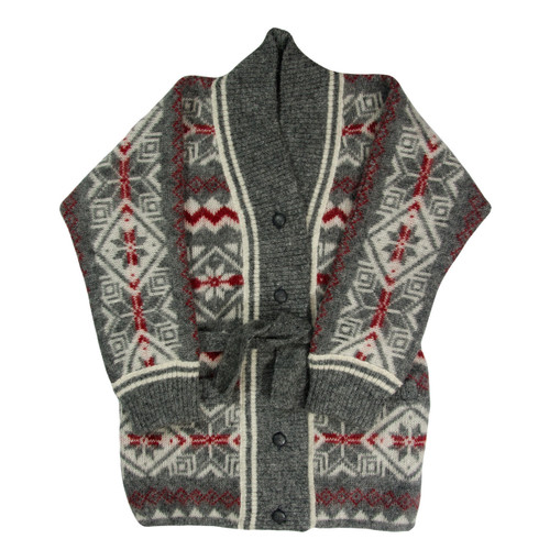 Icelandic Wool Ladies Button Cardigan by Freyja