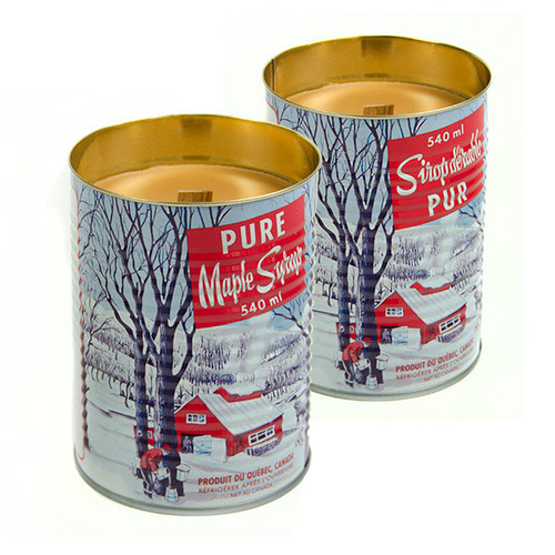 Maple Scented Candles (2 Pack) by Seracon Eco-Culture