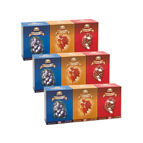 Tea Assorted Collection (3 Pack) by Canada True