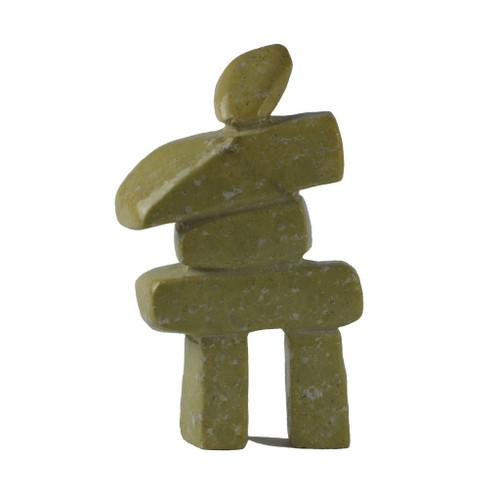 Inuit Inukshuk Sculpture 7 by Ooloopie Killiktee