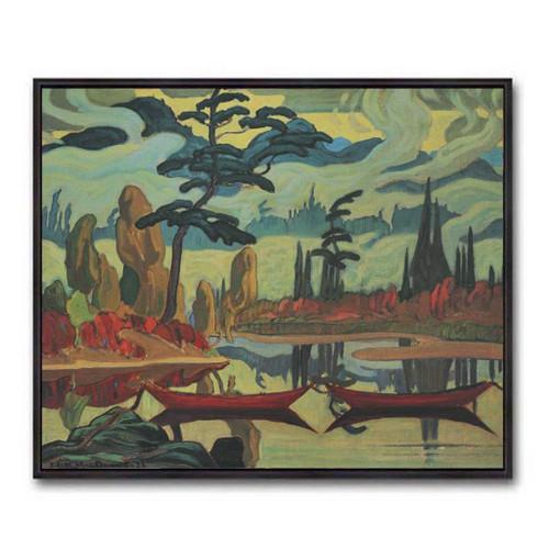 Mist Fantasy (Group Of Seven) by J.E.H. MacDonald