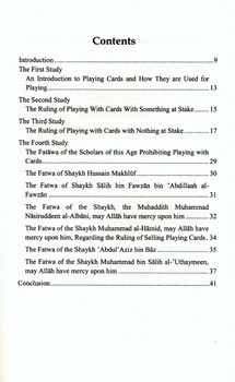 The Islamic View on Gambling & Playing Cards