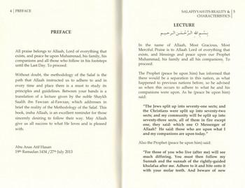 Salafiyyah Its Reality & Characteristics