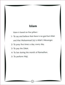 Colour & Learn About the Five Pillars of Islam