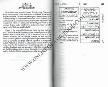 The Holy Quran English Translation with Original Arabic Text