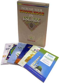 Increase Your Knowledge on Islam (6 books) By Darussalam
