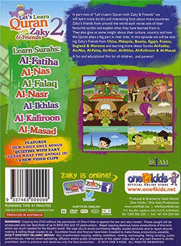 Lets Learn Quran with Zaky & Friends Part 2 (DVD)