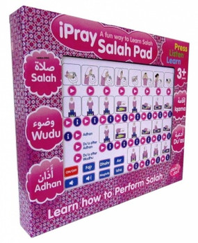 ipray Salah Pad For Girl ( A Fun Way To Learn Salah )