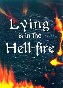 Lying is in the Hell-fire