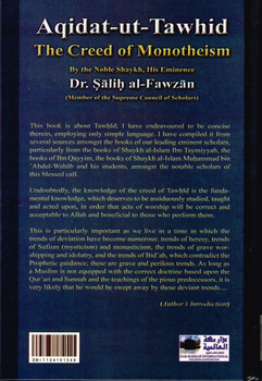 Aqidat Ut Tawhid the Creed of Monotheism
