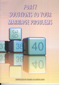 Fourty Solutions To Your Marriage Problems