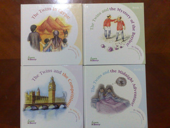 Acorn & Berry Set of Four ( 4 Books ) By Sajda Nazlee