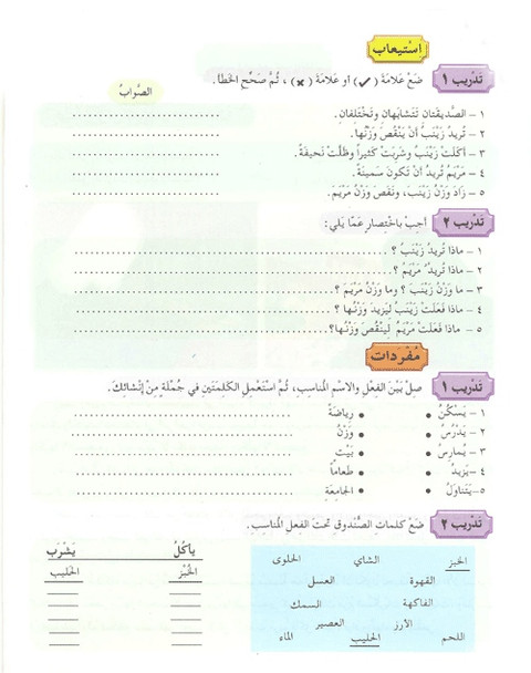 Arabic Between Your Hands Textbook Volume 2 with Mp3 Cd