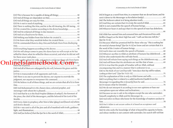 A Commentary on the Creed of Imam al-Tahawi