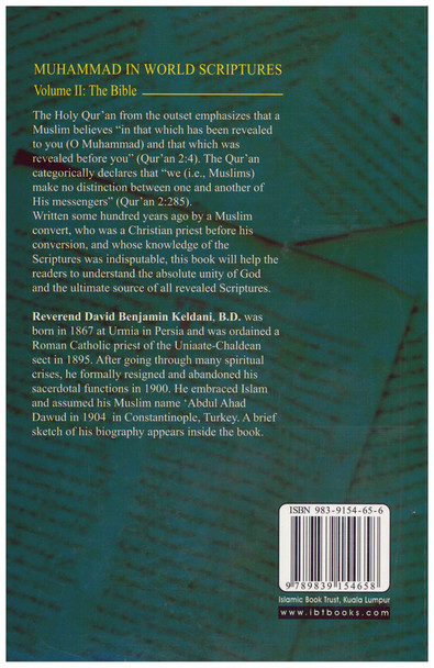 Muhammad In World Scriptures The Bible Volume 2