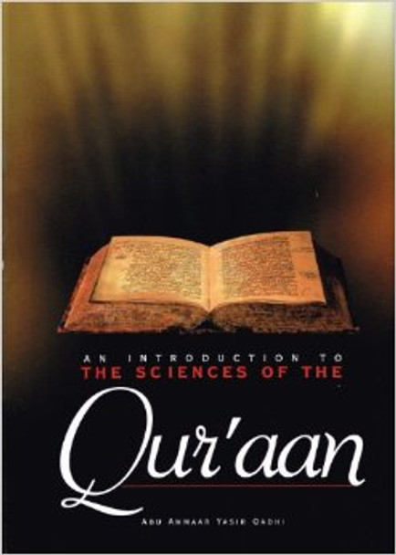 An Introduction to the Sciences of the Quran