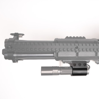 Straight Picatinny Rail Flashlight Mount