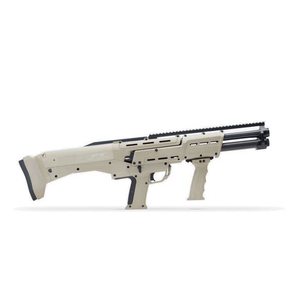 Tan DP-12 Double Barrel Pump Shotgun
