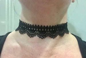 Black Lace Choker #2