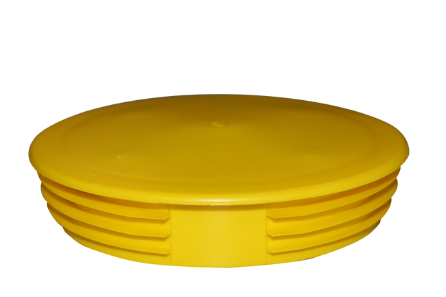 Flat top bollard cover cap