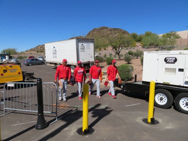 Tempe Diablo Stadium Installs Removable Bollards to Protect Vendors, Players and Fans