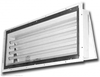 261 LED Series 4' (6) Lamp  Rear Access Paint Booth Light Fixture Piano hinged rear access fixture for easy relamping