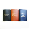 Passport Sleeve: Born to Wander Camel