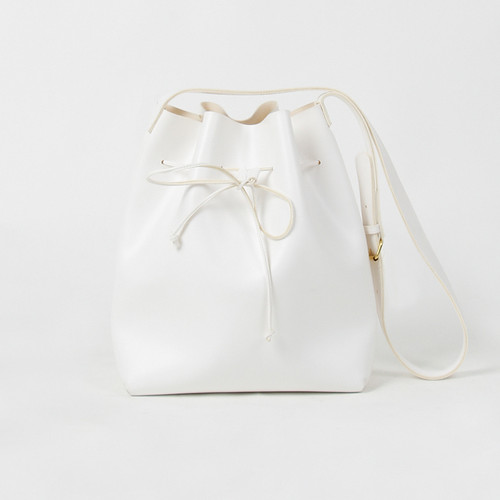 Chianti Bucket Bag Medium (WHITE)
