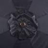 9 Feet Aluminum Patio Umbrella with Crank and Push Button Tilt, 8 Steel Ribs (Black)