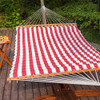 Lazy Daze Hammocks Double Size Pillow Top Hammock Spreader Bar Heavy Duty (Sienna)