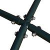 Lazy Daze Hammocks Summit X-Stand with Heavy Duty Steel Frame for Hanging Hammock Chairs,Capacity 250 Pounds, Green Matt Finish