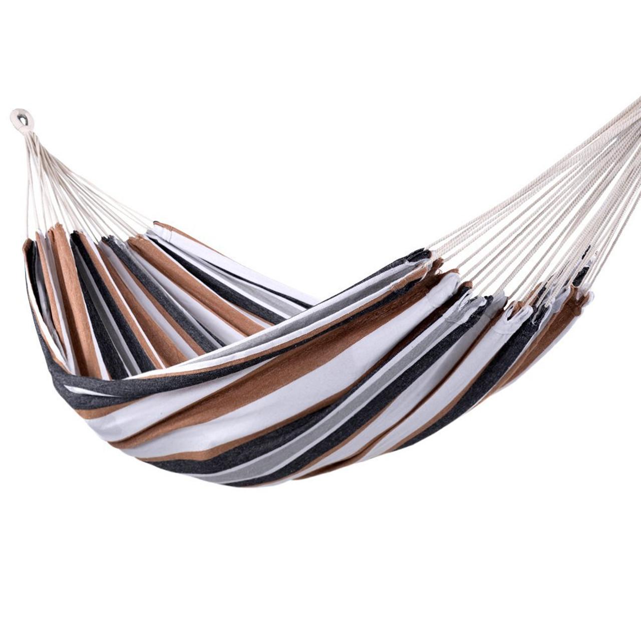 lazy daze hammocks portable double size canvas hammock with carry bag 450 pounds capacity portable double size canvas hammock with carry bag 450 pounds      rh   sundaleoutdoor