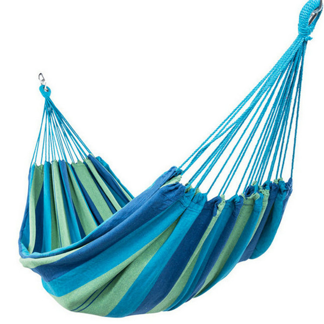 lazy daze hammocks outdoor portable double size canvas hammock for two person with carry bag portable double size cotton hammock with carry bag450 pounds      rh   sundaleoutdoor