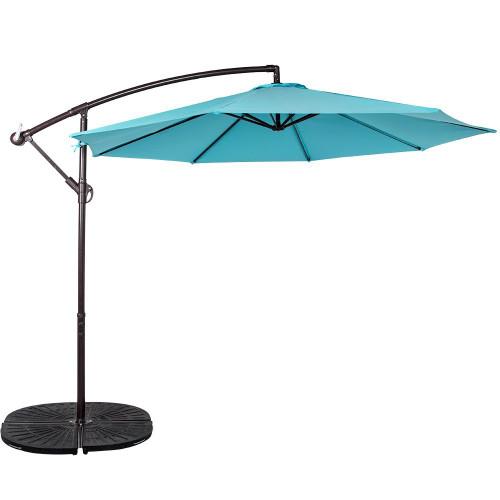 10 Feet Aluminum Offset Patio Umbrella