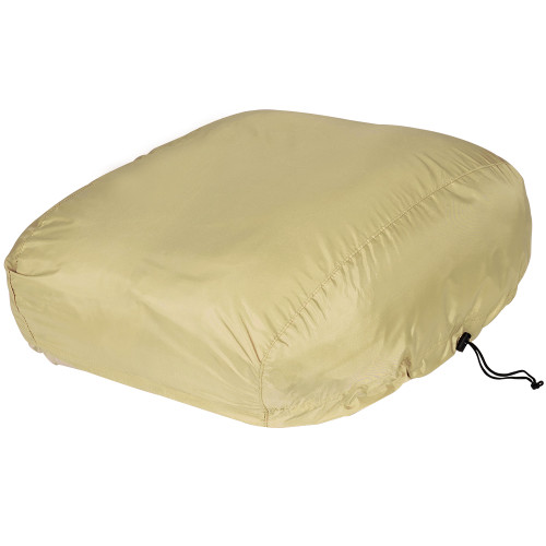 Heavy Duty Standard BBQ Charcoal Grill Cover, fit up to 15L x 26W x 9H inches, Beige