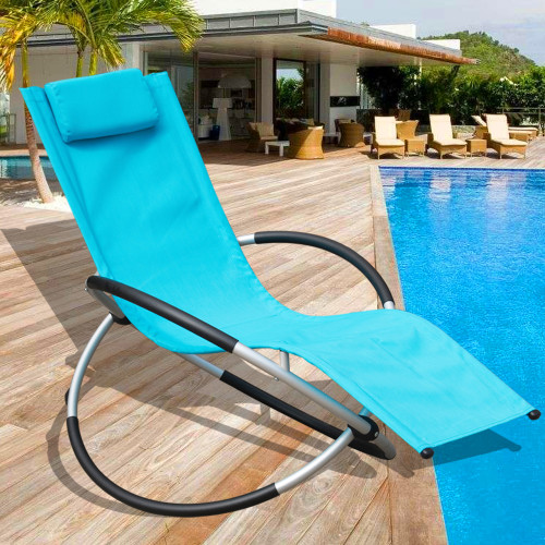 Deluxe aluminum beach yard pool folding chaise lounge for Pool deck chairs for sale