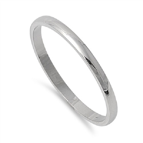 plain platinum wedding band thumb rings bridal